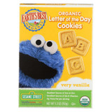 Earth's Best Organic Letter Of The Day Very Vanilla Cookies - Case Of 6 - 5.3 Oz.