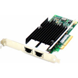 AddOn HP 656596-B21 Comparable 10Gbs Dual Open RJ-45 Port 100m PCIe x8 Network Interface Card