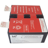 BTI Replacement Battery RBC124 for APC - UPS Battery - Lead Acid