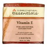 Clearly Natural Bar Soap - Vitamin E - 3 Pack - 4 Oz