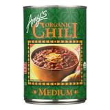 Amy's - Organic Medium Chili - Case Of 12 - 14.7 Oz