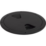 """Sea-Dog Screw-Out Deck Plate - Black - 4"""""""