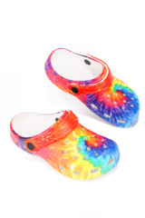 GARDENDOLLL KID'S ANKLE STRAP CUT OUT HOLE SANDAL-MULTI