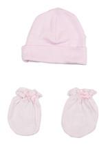 Girls' Cap And Mittens 2 Piece Set
