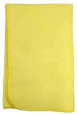 Blank Yellow Polarfleece Blanket