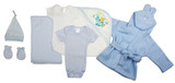 Essential Newborn Baby Boy 7 Piece  Set
