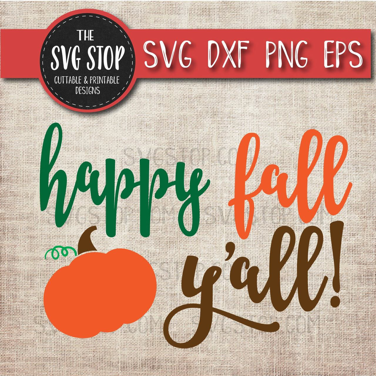 picture regarding Happy Fall Yall Printable known as Pleased Drop Yall Pumpkin