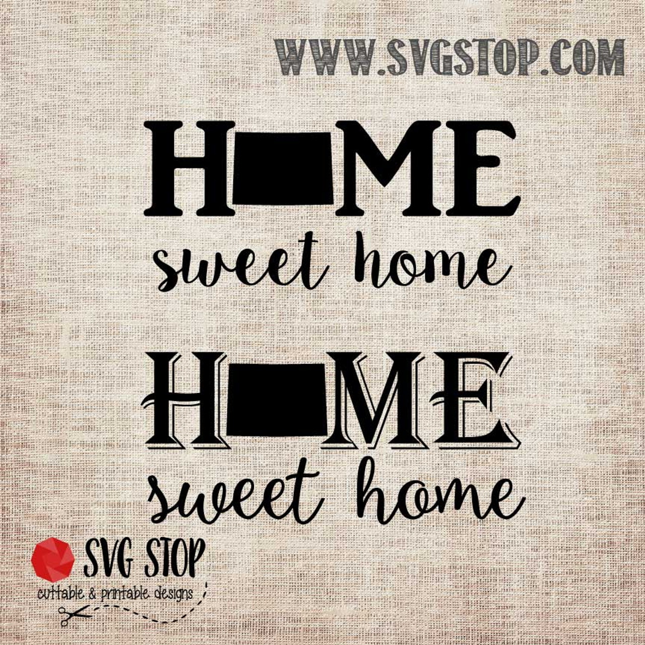 Colorado Home Sweet Home Cut File The Svg Stop