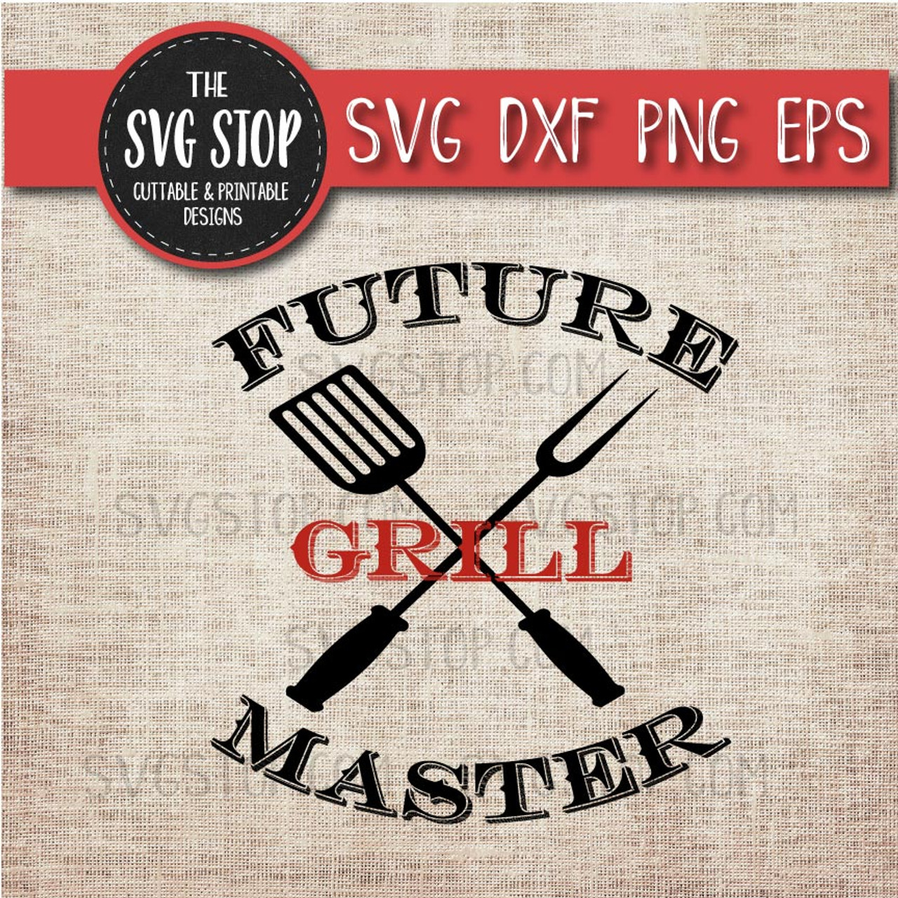 Future Grill Master - Grill - Summer - BBQ - Svg Dxf Png Eps - Clipart -  Cut File