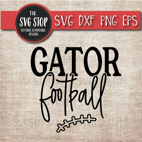 Gator Football svg clipart cut file sublimation design print n cut