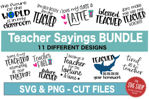 teaching teacher tshirt svg designs cut files and sublimation designs