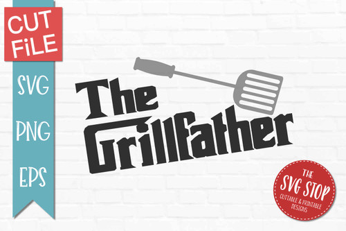 grill father grilling quote svg cut files sublimation design clipart