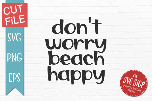 beach quote svg cut files sublimation design clipart