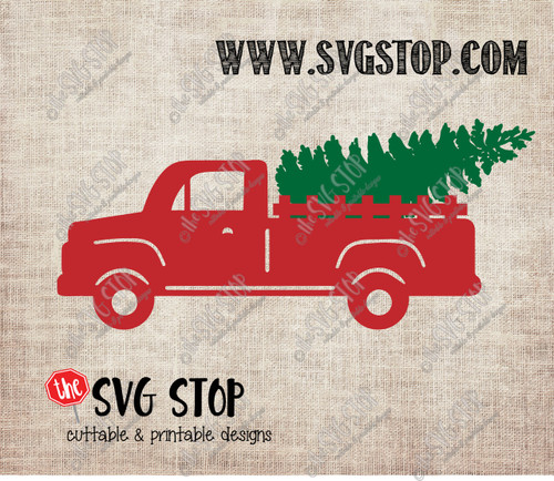 Red Truck Christmas Tree