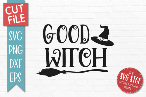 Good Witch svg sublimation print clipart cut file