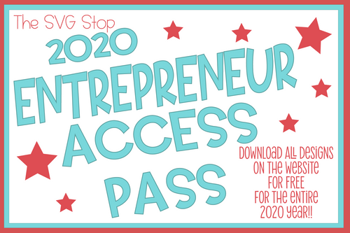 The SVG Stop All Access Pass membership for digital designers