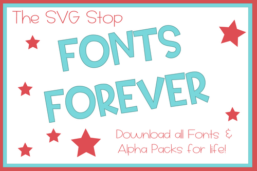 Free fonts and alpha packs svg png
