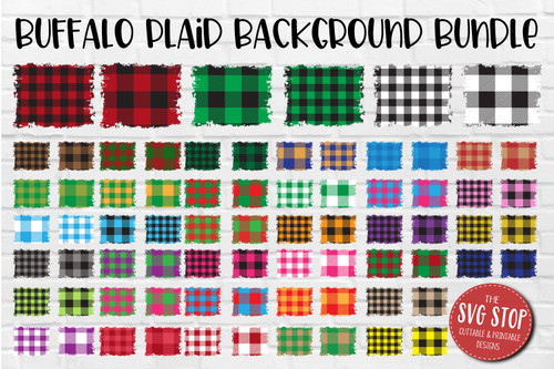 Buffalo plaid backgrounds for sublimation and digital paper