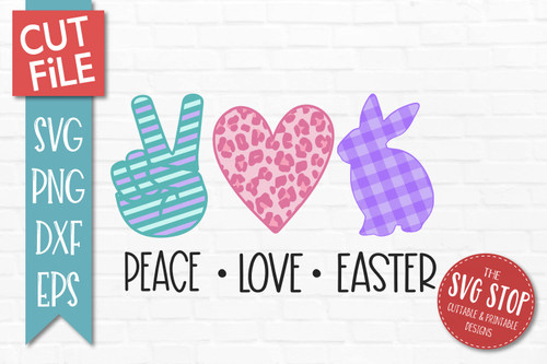 peace love Easter svg july 4th cut file clipart