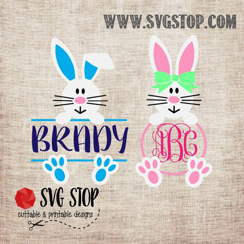 SVG Stop's Bunny Girl Ears Monogram Frames SVG, DXF, JPG, PNG, and EPS format cut file clip art for Silhouette, Cricut, Brother Scan n cut, and various other cutting machines.