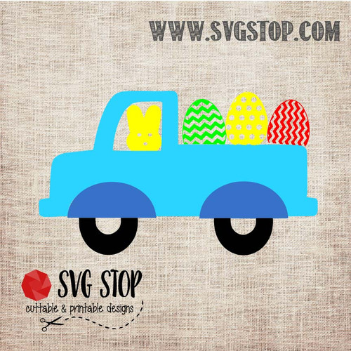 SVG Stop's Peep Truck Easter SVG, DXF, JPG, PNG, and EPS format cut file clipartfor Silhouette, Cricut, Brother Scan n cut, andvarious other cutting machines.