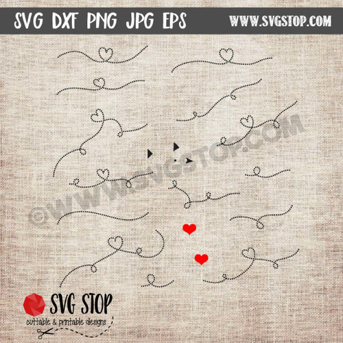 dotted lines clip art