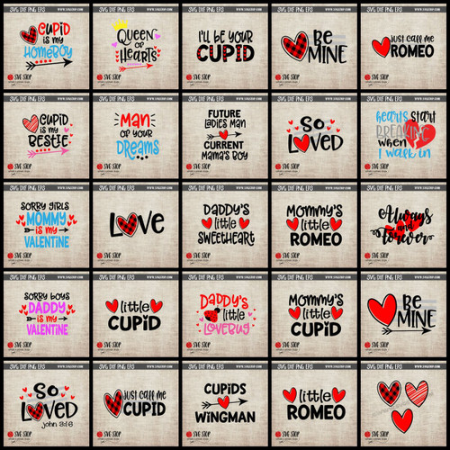 Valentines Day SVG Clip Art Cut File 2018
