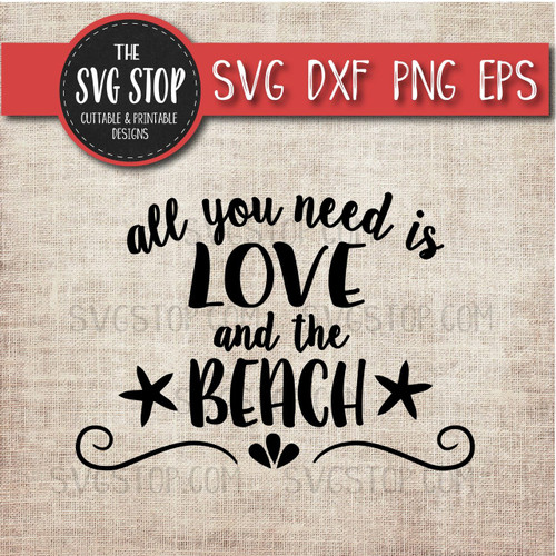 Sandy Toes Salty Kisses Svg Cut File Clipart The Svg Stop