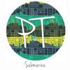 "12""x12"" Permanent Patterned Vinyl - Submarine"