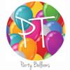 "12""x12"" Patterned Heat Transfer Vinyl - Party Balloons"