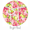 "12""x12"" Patterned Heat Transfer Vinyl - Bright Floral"