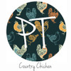 "12""x12"" Permanent Patterned Vinyl - Country Chicken"