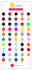 EasyWeed Color Chart