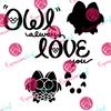 Owl Love You Digital Cut File