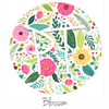 "12""x12"" Permanent Patterned Vinyl - Blossom"