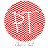 "12""x12"" Permanent Patterned Vinyl - Chevron Red"