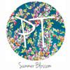 """12""""x12"""" Permanent Patterned Vinyl - Summer Blossom"""