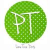 "12""x12"" Patterned Heat Transfer Vinyl - Dots - Lime Tree"