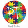 "12""x12"" Permanent Patterned Vinyl - Puzzle Me This"