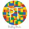 """12""""x12"""" Patterned Heat Transfer Vinyl - Building Bricks"""