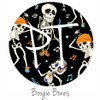 "12""x12"" Permanent Patterned Vinyl - Boogie Bones"