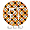 "12""x12"" Patterned Heat Transfer Vinyl - Hocus Pocus Plaid"