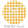 "12""x12"" Patterned Heat Transfer Vinyl - Buffalo Plaid: Mustard"