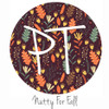 """12""""x12"""" Patterned Heat Transfer Vinyl - Nutty For Fall"""