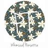 "12""x12"" Patterned Heat Transfer Vinyl - Whimsical Poinsettia"