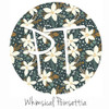 "12""x12"" Permanent Patterned Vinyl - Whimsical Poinsettia"