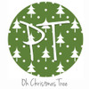 """12""""x12"""" Permanent Patterned Vinyl - Oh Christmas Tree"""