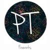 "12""x12"" Permanent Patterned Vinyl - Fireworks"