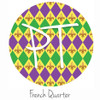"12""x12"" Permanent Patterned Vinyl - French Quarter"