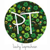 "12""x12"" Permanent Patterned Vinyl - Lucky Leprechaun"